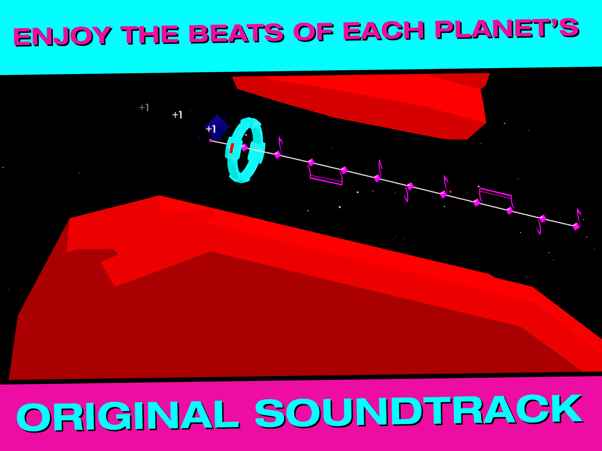ENJOY THE BEATS OF EACH PLANET'S ORIGINAL SOUNDTRACK